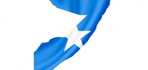 Set of various Somalia flags